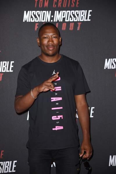 """Le rappeur Mokobé très motivé pour voir le dernier volet de la saga """"Mission : Impossible""""."""