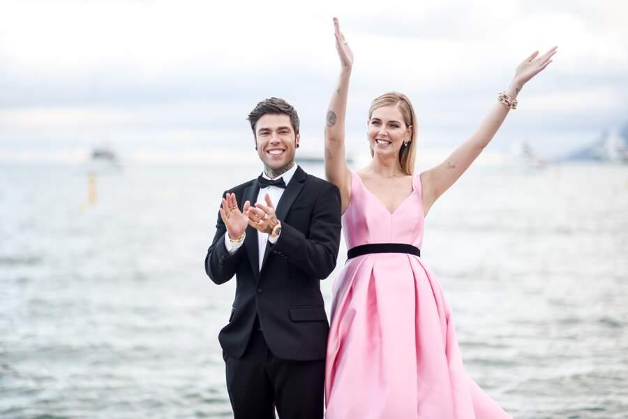 Chiara Ferragni et son fiancé le rappeur Fedez