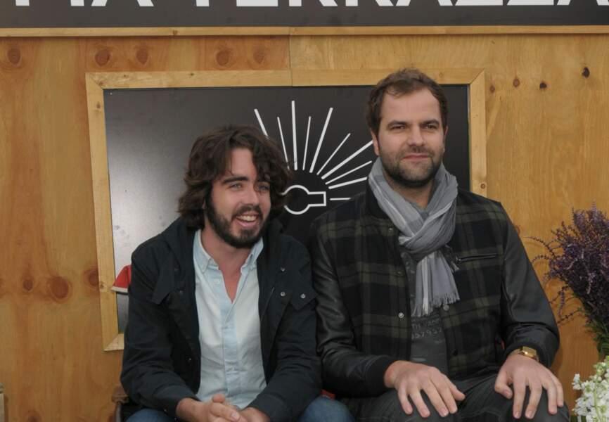 Eric et Quentin du Petit Journal