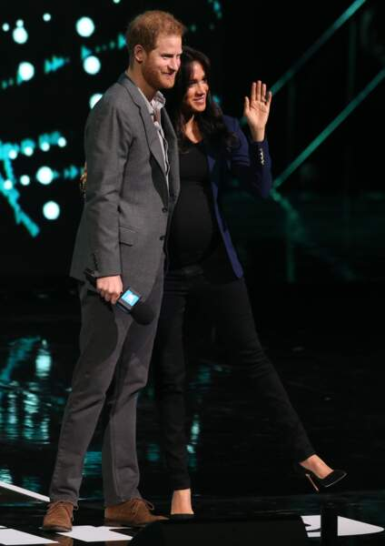 Meghan Markle et le prince Harry au WE Day UK, à Londres