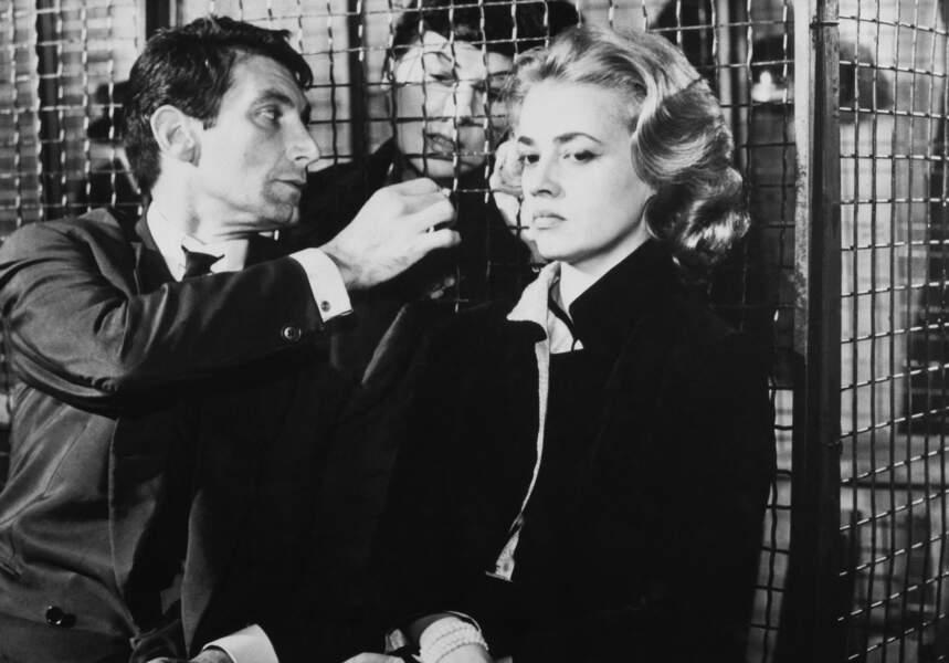 """1958, en compagnie de Felix Marten elle jouait dans """"Ascenseur pour échafaud"""""""