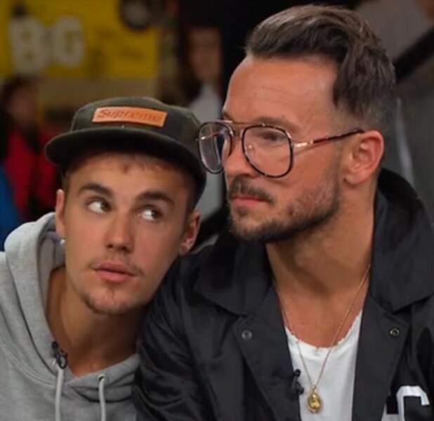 Justin Bieber et le pasteur Carl Lentz