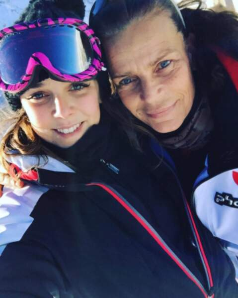 Stéphanie de Monaco et sa fille Pauline