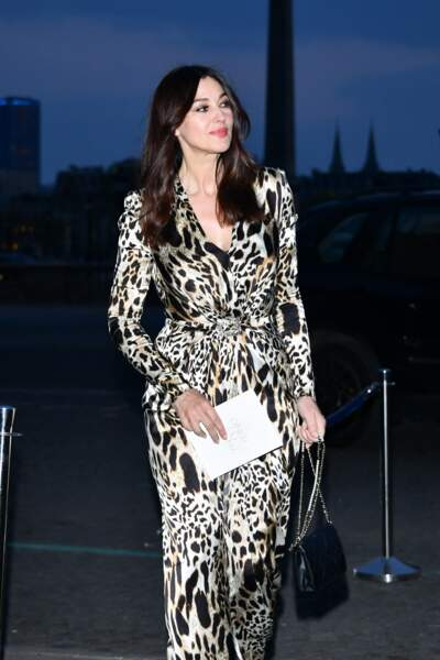 Monica Bellucci, l'une des invitées du prestigieux Dîner du cinéma