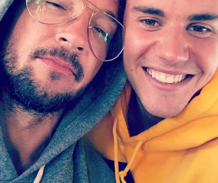 Le pasteur Carl Lentz et Justin Bieber