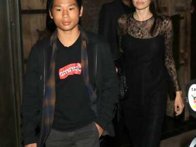 Angelina Jolie et son ainé Pax