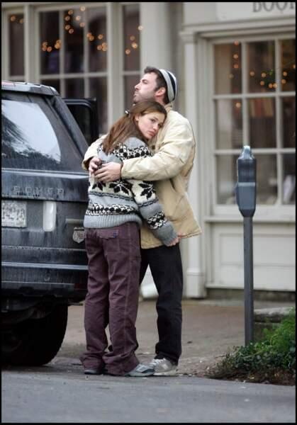 Ben Affleck et Jennifer Garner à Savannah en 2005