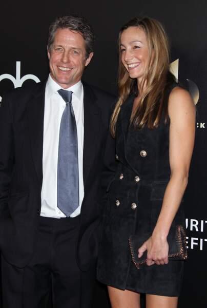 Hugh Grant et sa compagne, Anna Eberstein