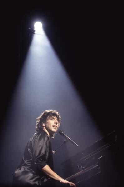 Patrick Bruel en concert à Bercy, en 1994