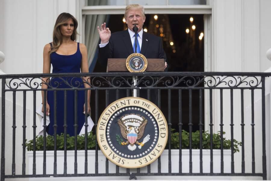 Melania Trump s'est installée à la Maison Blanche il y a un peu plus d'un mois