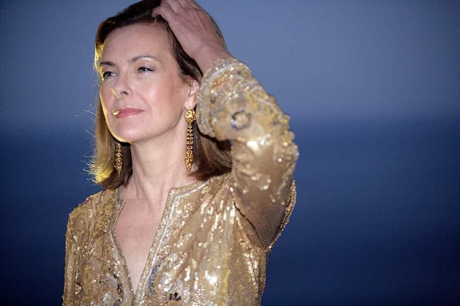 Carole Bouquet aux Nations Awards 2017 à Taormine en Sicile, le 28 juillet 2017