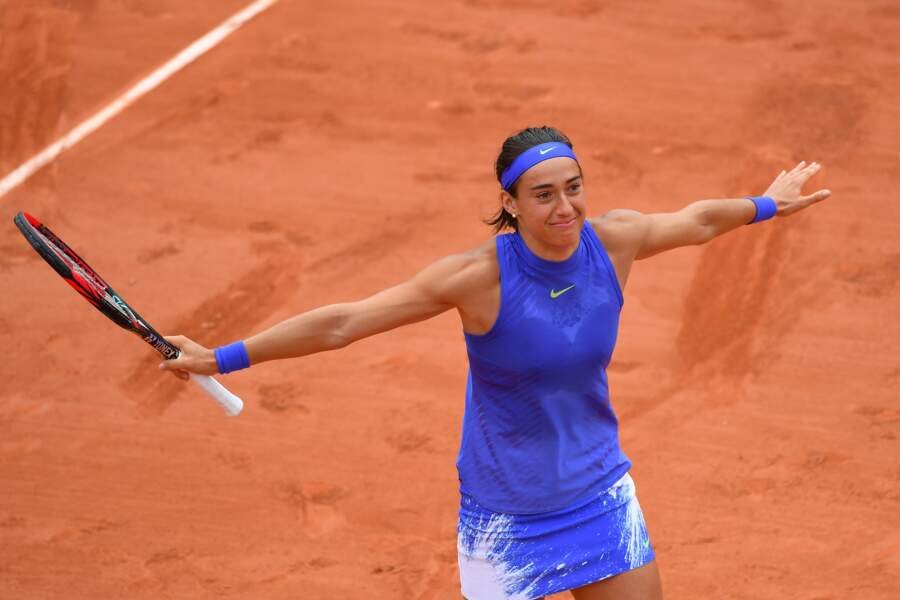 Caroline Garcia à Roland Garros