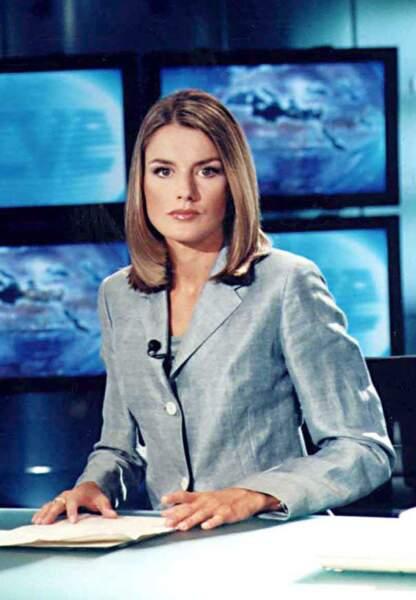 Avant, la reine d'Espagne était présentatrice télé