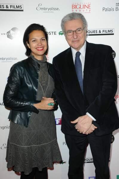 Isabelle Giordano et Serge Toubiana
