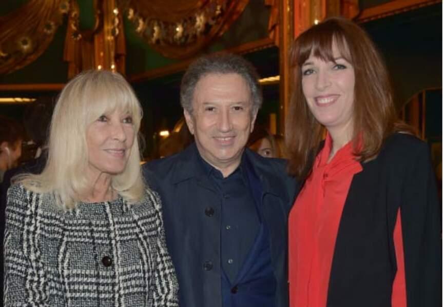 Dany Saval, Michel Drucker, Stéfanie Jarre