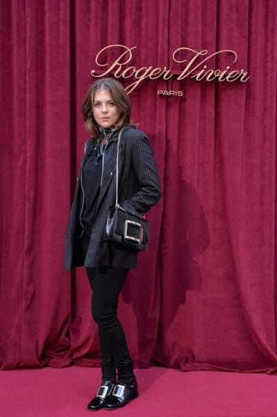Morgane Polanski était à l'Hotel Vivier, presentation printemps-été 2019 pendant la Paris Fashion Week.