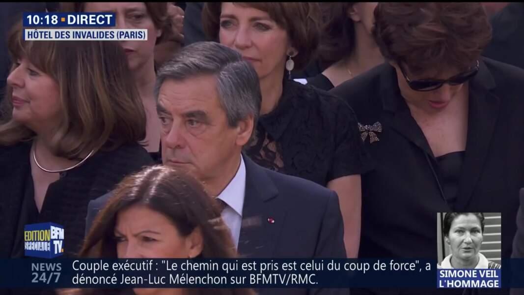 Obsèques de Simone Veil : François Fillon