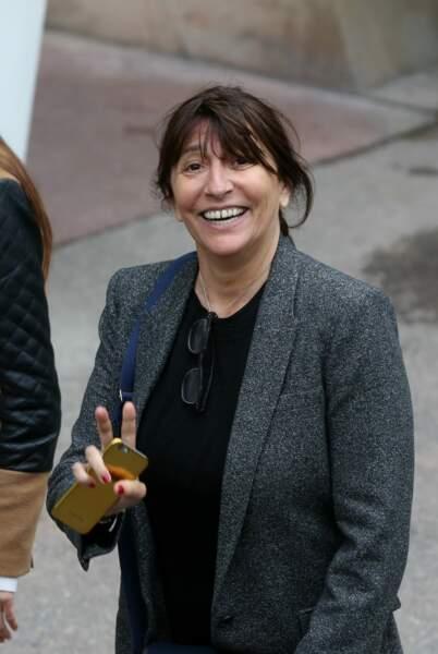 La productrice Anne Marcassus