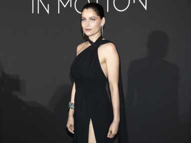 Photos - Laetitia Casta sublime en robe longue fendue à Cannes