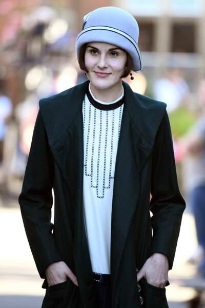 Michelle Dockery dans Downton Abbey