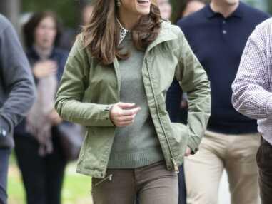 PHOTOS - Kate Middleton en look de garde-forestier pour son retour de congé maternité