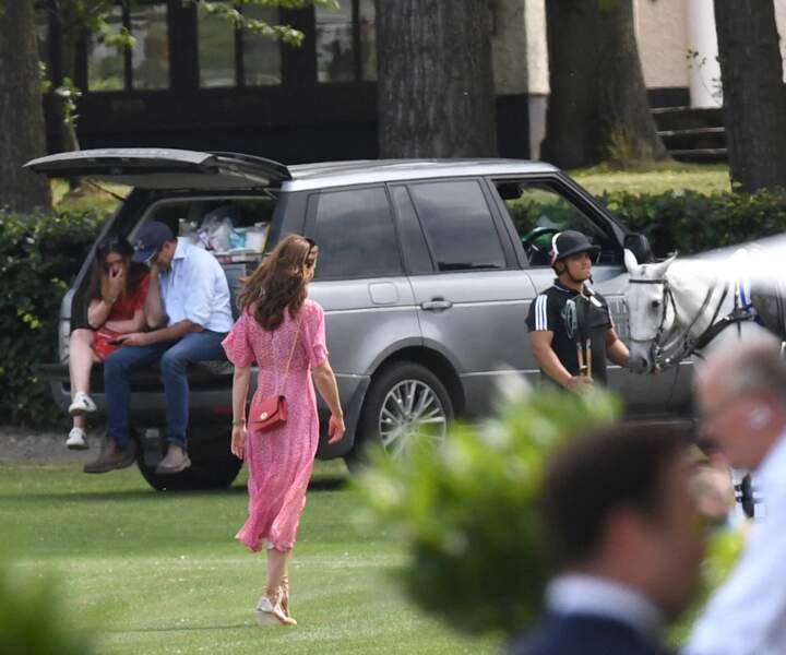 Kate Middleton a opté pour une robe gypsy rose