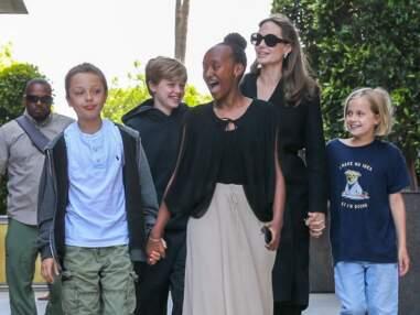Angelina Jolie heureuse en famille avec ses enfants, loin de Brad Pitt et de leur conflit
