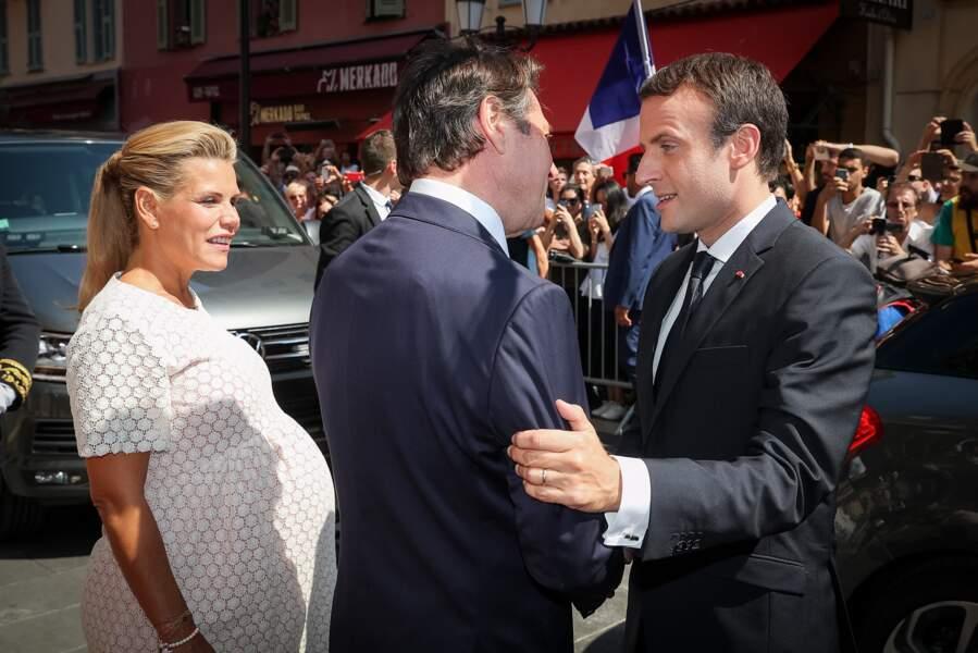 Laura Tenoudji a dévoilé sur baby bump sur le tapis rouge du festival de Cannes mais aussi à Roland Garros