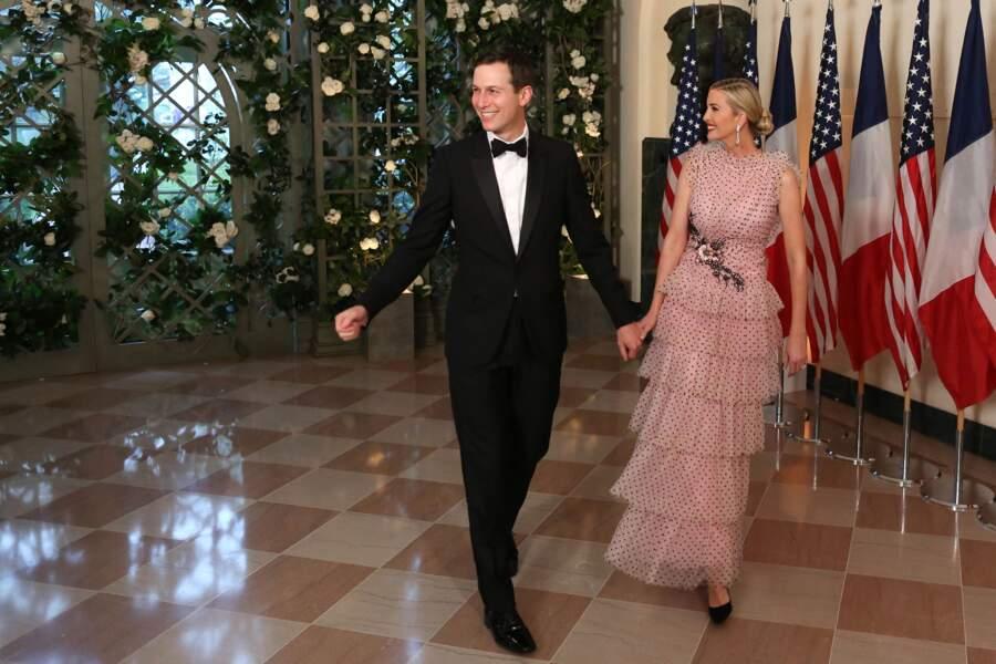 Ivanka Trump en robe Rodarte : la fille du président a sorti le grand jeu pour le couple Macron