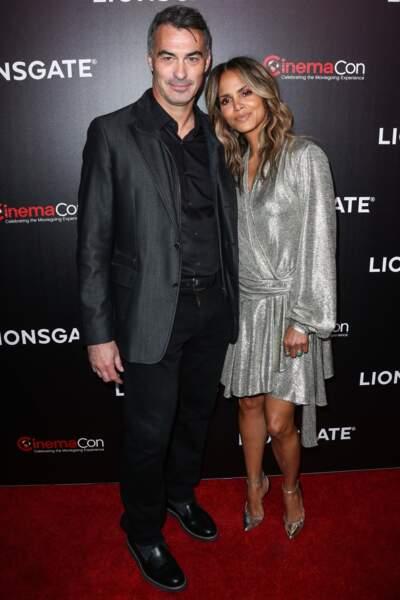 Halle Berry était accompagnée ce soir-là du réalisateur Chad Stahelski