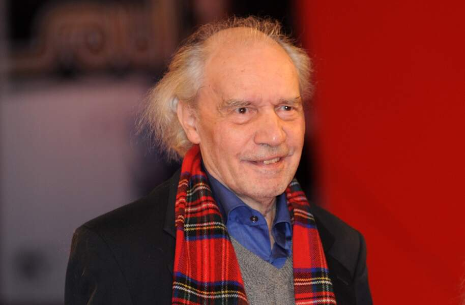 Jacques Rivette en 2007 au festival de Venise