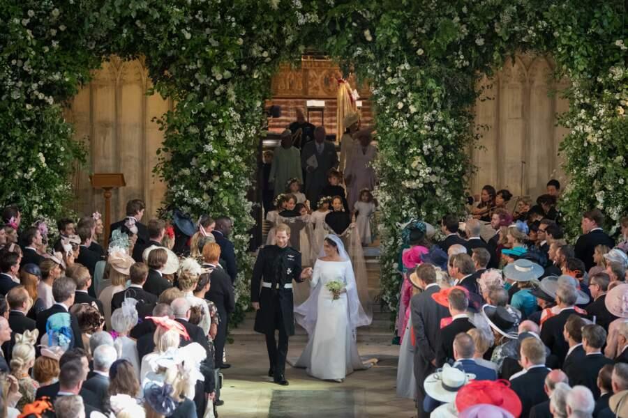 Meghan Markle sublime dans sa robe signée Givenchy