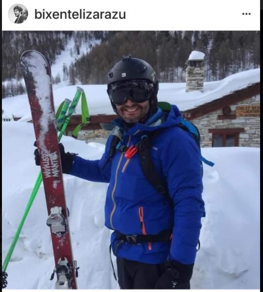 Bixente Lizarazu à Val d'Isère
