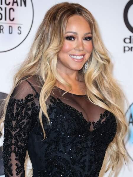Mariah Carey et ses faux cils vertigineux