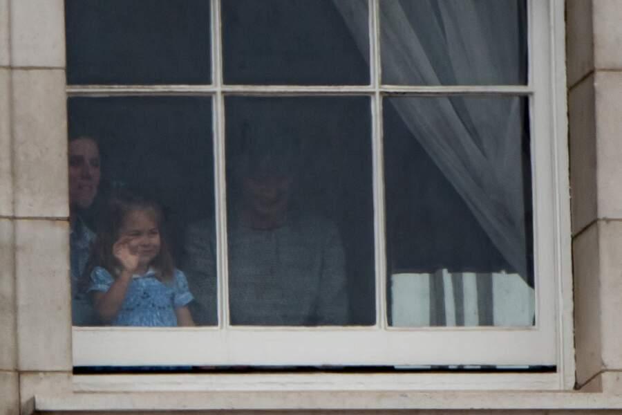 Princesse Charlotte et Prince George des chenapans