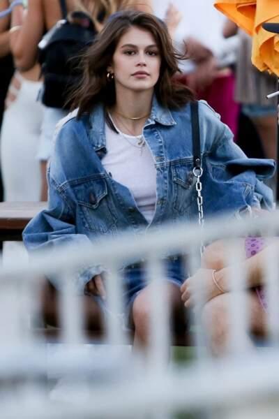 Kaia Gerber au festival Coachella