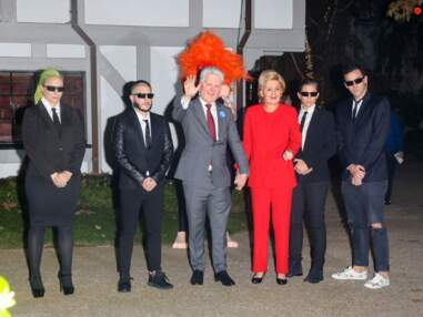 Katy Perry en Hillary Clinton