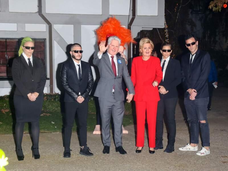 Hillary Clinton en Katy Perry
