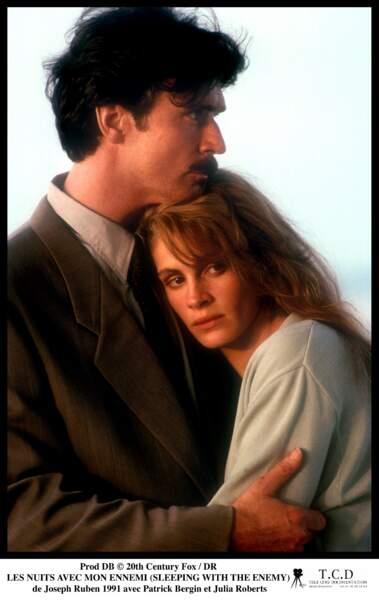 """En 1991 avec Joseph Ruben dans le film """"Les Nuits avec mon Ennemi"""""""