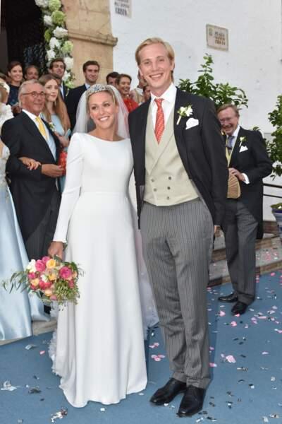 Mariage de Marie Gabrielle Nassau et de Antonius Willms à Malaga le 3 septembre 2017