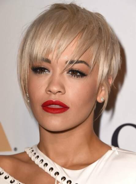 La mèche effilée de Rita Ora