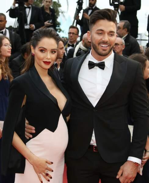 Nabilla enceinte de quelques mois au dernier festival de Cannes