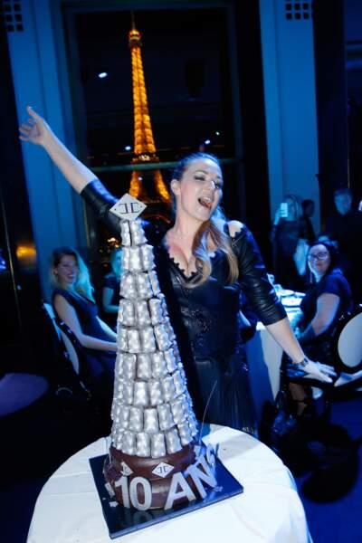Caroline Gaspard fête les 10 ans de sa marque de joaillerie Akillis