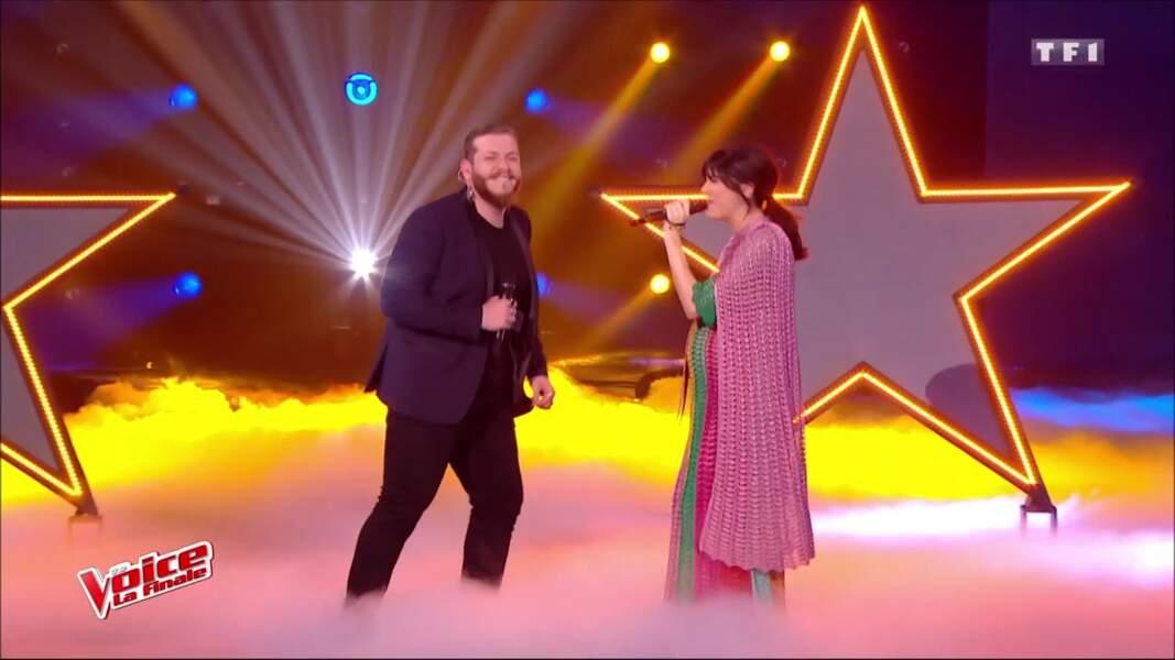 Nolwenn Leroy enceinte sur la finale de The Voice