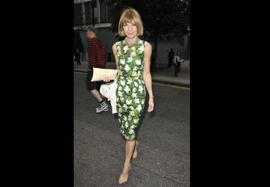 Anna Wintour, forêt luxuriante