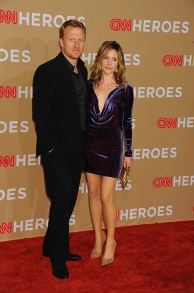 Kevin McKidd et sa femme Jane Parker en 2010