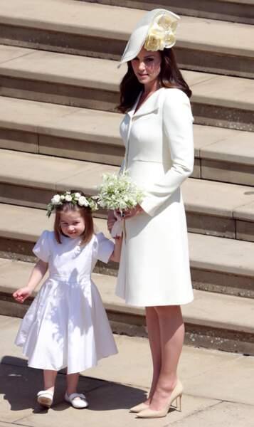 Kate Middleton a accouché il y a moins d'un mois