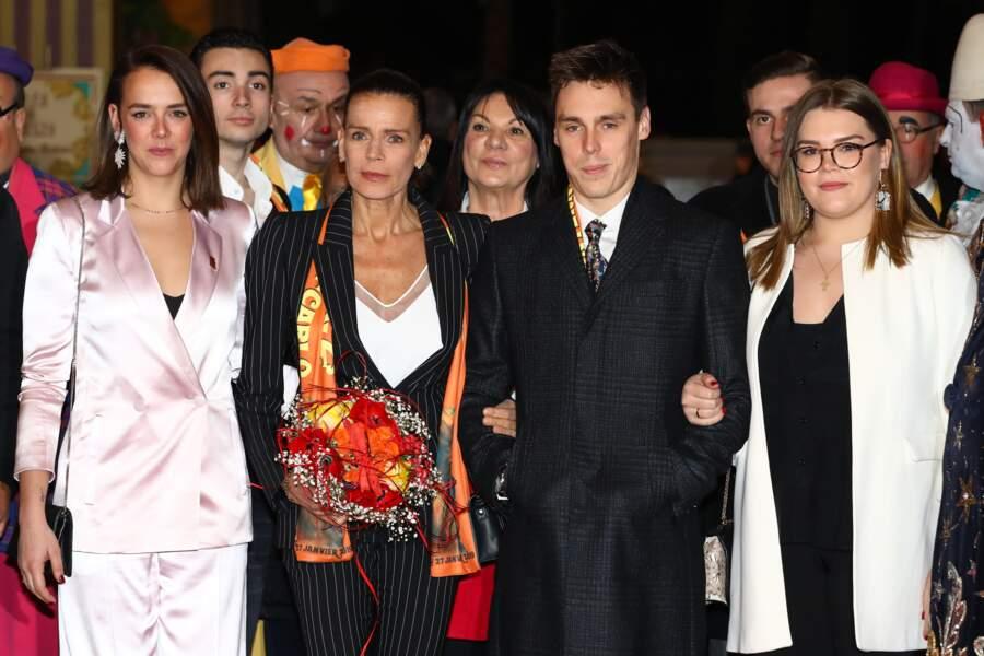 Le 18 janvier, la famille de Monaco était réunie pour la 43e édition du festival international du cirque