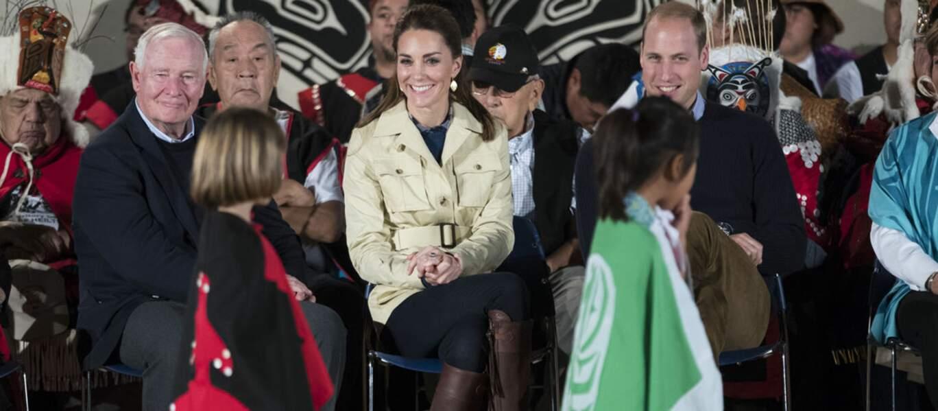 En 2016, Kate Middleton emporte ses bottes lors d'un voyage au Canada