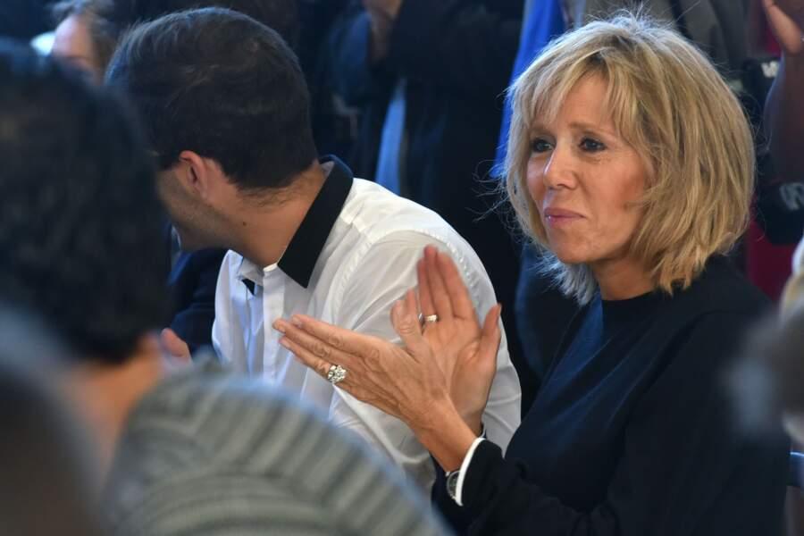 Lors de la passion de pouvoir entre Emmanuel Macron et Michel Sapin au Ministère des Finances le 31 août 2016